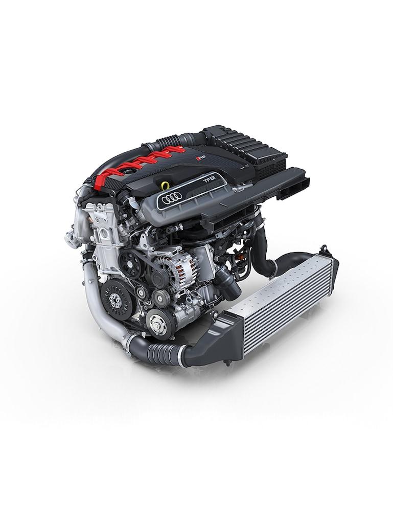 Moteur de la nouvelle Audi RS3