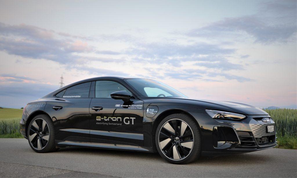 Audi e-tron GT noire